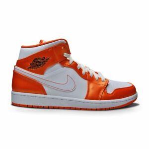 Mens Nike Air Jordan 1 Mid SE - DM3531 800 - Electro Orange Black White