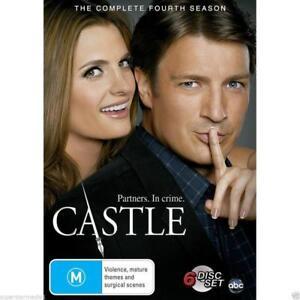 CASTLE (COMPLETE SEASON 4 DVD SET - *REGION 1* SEALED + FREE POST)