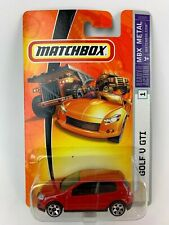 Matchbox Golf V GTI MBX Metal Red 2006 New