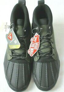 Vans Men's Sk8-Hi Del Pato MTE All Weather Boots Black Grape Leaf Size 9.5 NWT