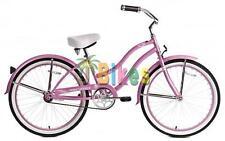 "Micargi Tivola, Pink - Women's 24"" Beach Cruiser Bicycle"