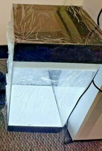 """Lighted Clear Acrylic Collectible Display Case 16""""x8""""x8"""""""