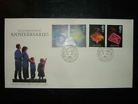 1989 ANNIVERSARIES ROYAL MAIL UNADDRESSED FDC & HOUSE OF COMMONS SHS CV £30