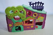 Littlest Pet Shop Purple Treehouse Playhouse