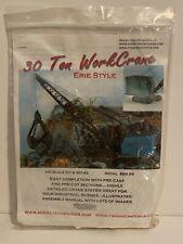 HO Scale Model Tech Studios 30 Ton Erie Work Crane Kit