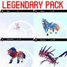 Pokemon Sword & Shield Legendary Bundle 6IV Mew Zacian Zamazenta Eternatus