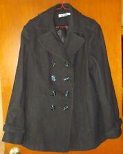 Ricki's Black Wool Coat size XL