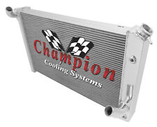 1973-1976 Chevy Corvette Aluminum 3 Row CHAMPION Radiator-CC478