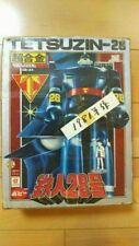 Popy TETSUZIN-28 Chogokin Deluxe GB-24 1981 Hikari Prod. Vintage Raro Figura Jpn
