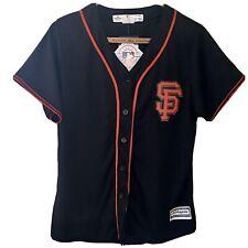 NWT SF Giants MLB Jersey Replica Top Shirt Women's L J20-2