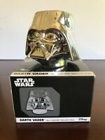 Star Wars Disney Collectible Darth Vader 16oz Mug Cup Silver Chrome Molded Mask