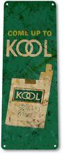 Kool Cigarette Smoking Tobacco Retro Logo Shop Garage Wall Decor Metal Tin Sign
