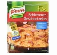 4 x Bag Knorr Fix Schlemmer-Geschnetzeltes - New & Fresh from Germany !