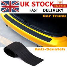 90cm Car Rear Door Sill Plate Bumper Guard Protector Cover Guard Trim Pad Rubber