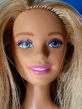 Blonde Fashionista Blue Eyed BARBIE Doll Heeled Feet - Nude