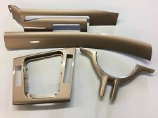 Bmw E46 3-series Saloon or Touring models GLOSS GOLD dash trims RHD