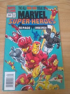Marvel Super Heroes Spring 1993 Ironman Armor Wars Comic Newsstand Edition - VF+