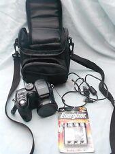 Fujifilm FinePix S Series S1000fd 10.0MP Digital Camera - Black with Bag