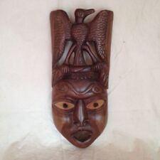 Alte asiatische Holzmaske Maske