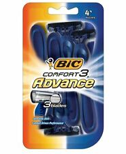 Bic Comfort 3 Advance Shavers for Men 4 Each