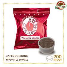 200 Cialde Capsule Caffè Borbone Miscela Rossa Red comp. Lavazza Espresso Point