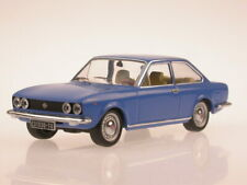 Fiat 124 Coupe blue 1971 diecast model car IXO 1/43