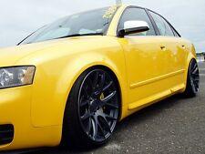 Türleisten für Audi A4 8E B6 B7 Leisten Schweller Seiten S4 RS4 Seitenschweller