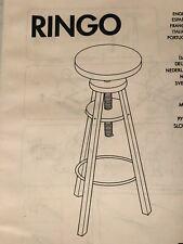 Ikea Ringo Stool Adjustable Height Artist Task Chair New In Box