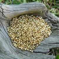 1000 perles à écraser 2mm (doré)