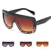 Women's Fashion Retro Designer Oversized PUNK Sunglasses Eye Glasses Eyewear
