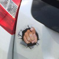 1PC Funny Car Truck 3D Vinyl Graphics Side Sticker Body Door Window Hole Decal