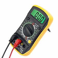 Digital LCD Multimeter Current Tester Meter Ammeter Ohmmeter OHM Volt AC DC USA