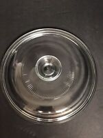 Glass Pyrex G-5-C  Lid for Corning  Ware French White 1.5 Qt    NEW MINT!!