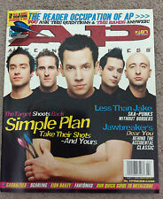 ALTERNATIVE PRESS Magazine Simple Plan Cover Feb 2004 #187 Less Than Jake