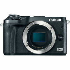 NEW Canon EOS M6 24.2MP Digital Camera - Black  - Body Only USA Model Free Ship!
