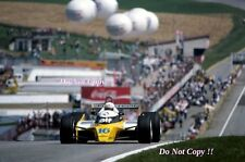Rene Arnoux Renault RE20 Austrian Grand Prix 1980 Photograph