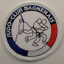 Martial Arts Embroidered Sew On Uniform Patch Judo-Club Bagnerais