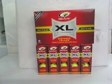Top Flite XL Long & Strong Distance Yellow 90 Highly Visible Golf Balls! 6 boxes
