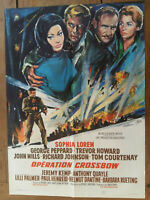 Plakat Operation Armbrust Sophia Loren George Peppard Trevor Howard 60x80cm