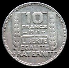 10 FRANCS 1931 - FRANCE- Turin - Argent / silver 04