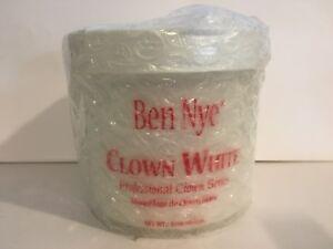 Ben Nye Clown White Pick 0.65oz / 1.75oz / 3oz / 8oz / 16oz New