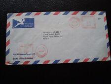 AFRIQUE DU SUD - enveloppe 4/11/1986 (sans timbre) (cy91)