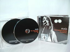 ANAIS-The cheap show in Your Face (Live) CD & DVD