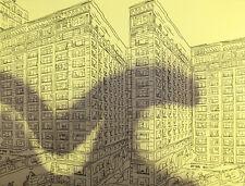 Pedro Calapez Arquitectura 06 HAND SIGNED ORIGINAL LITHOGRAPH Portuguese Artist