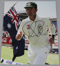RICKY PONTING Hand Signed 8'x10' Photo