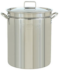 Bayou Classic 1060 Stainless Steel 62 Qt Stockpot With Lid Ships Fast