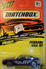 MATCHBOX FERRARI 456 GT #17 NEW DIE CAST VINTAGE 1994 ~ 20 YRS OLD