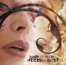 DEBORAH 'DEBBIE' HARRY (Blondie) Necessary Evil CD 2007/2009 NEUWARE!