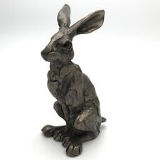 More details for frith sculptures huey hare 12cm paul jenkins cold cast bronze figurine s142