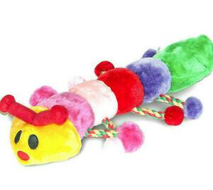 "22"" CLEO THE CATERPILLAR - Danish Design Dog Toys dd Premium Soft Plush Chew Fun"